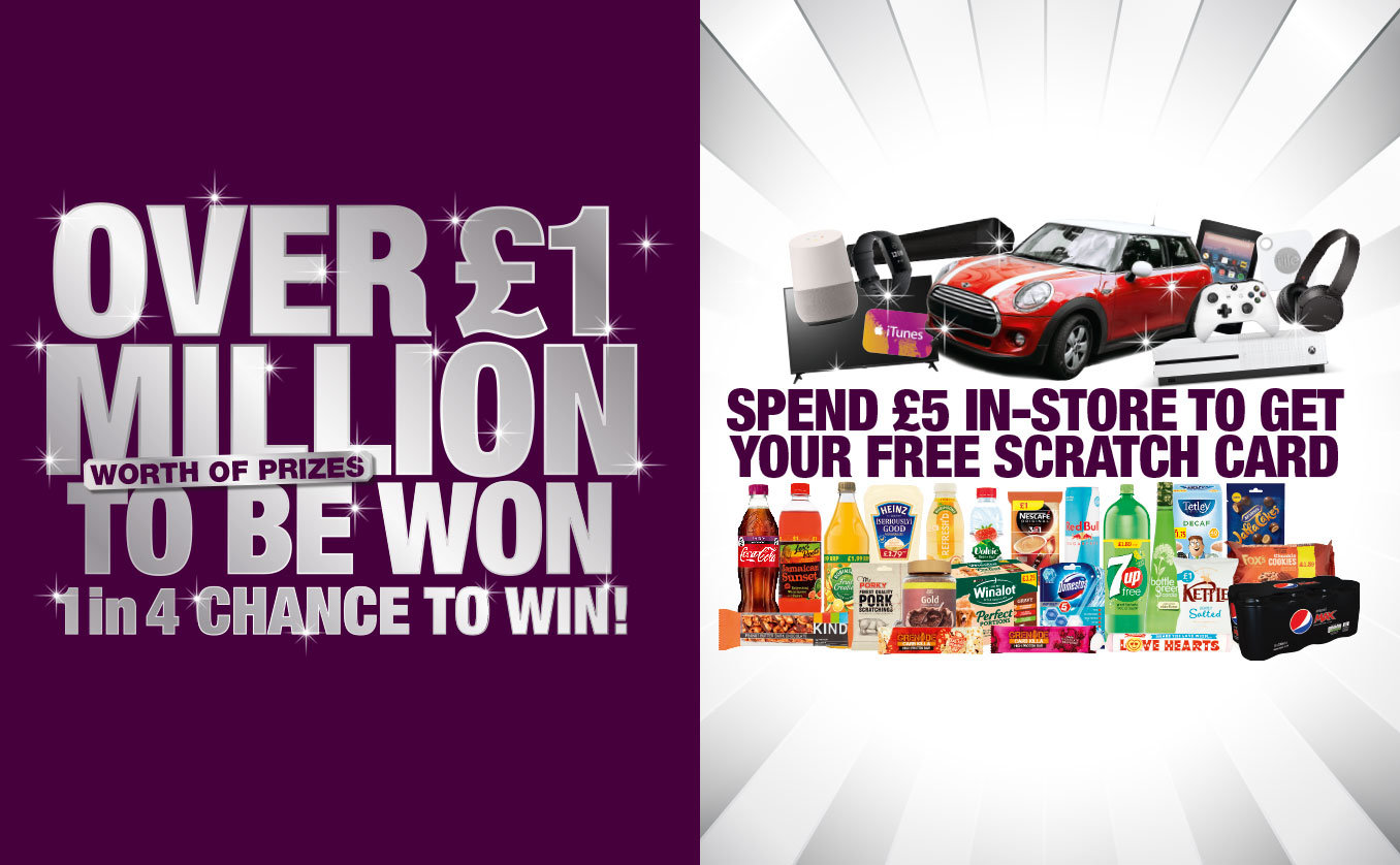 Win a FREE scratchcard