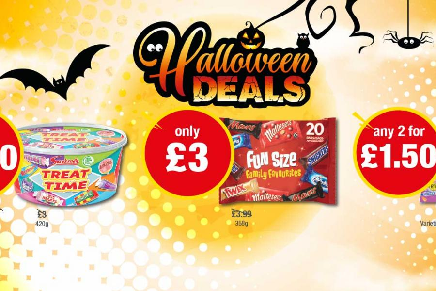Halloween Deals at Premier