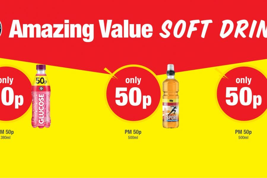 Amazing Value Soft Drinks (Euro Shopper) at Premier