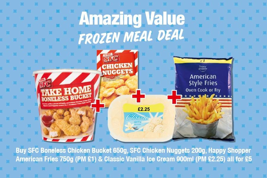 Frozen Meal Deal at Premier (NP1)