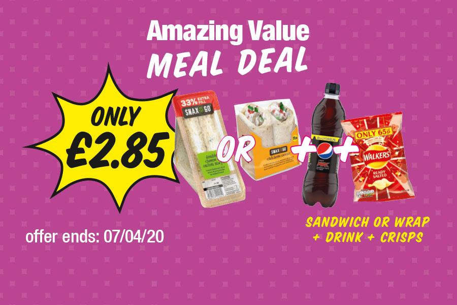 NP13 Amazing Value Meal Deal