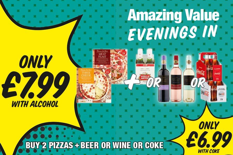 NP13 Amazing Value Evenings In