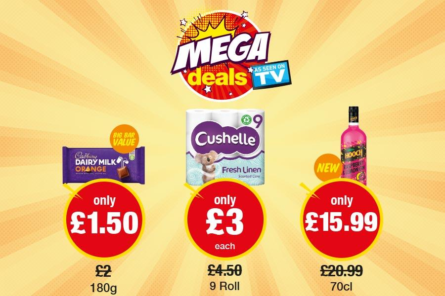 Mega Deals (2) at Premier (NP3)