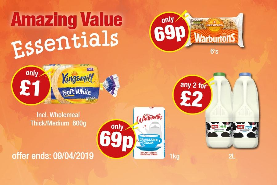 Amazing Value Essentials