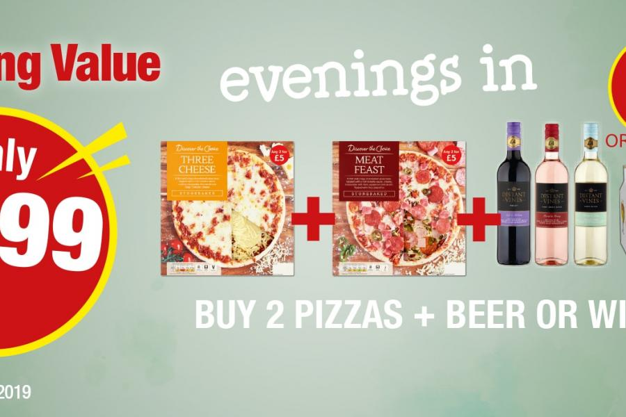 Evenings in for £7.99