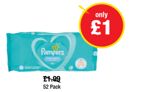 Pampers - Was £1.99 - Now only £1 at Premier