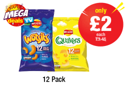 MEGA DEALS: Wotsits, Quavers - Was £3.46 - Now only £2 each at Premier
