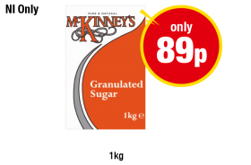 NORTHERN IRELAND ONLY: McKinney's Granulated Sugar - Now only 89p at Premier