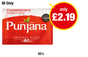 NORTHERN IRELAND ONLY: Thompson's Family Punjana Original Blend - Now only £2.19 at Premier