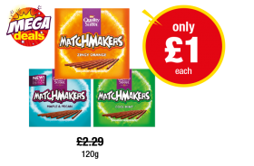 Quality Street Matchmakers Zingy Orange, Maple & Pecan, Cool Mint - Was £2.29 - Now only £1 at Premier