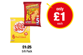 Skips Prawn Cocktail, Pom-bear Original - Was £1.25 - Now only £1 at Premier