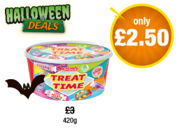 Swizzels Treat Time Tub - Was £3 - Now only £2.50 at Premier