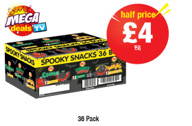 MEGA DEAL: Walkers Variety Spooky Snacks, Was £8 - Half Price £4 at Premier